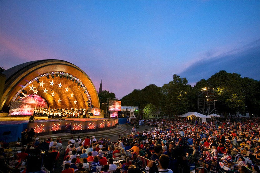 The Hatch Shell, Boston, MA
