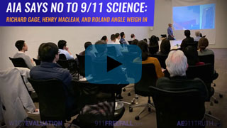 AIA says no to 9/11 Science