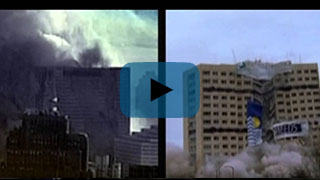 WTC 7 - Side by Side Comparison to Controlled Demolition